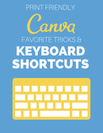 canva keyboard shortcuts cheatsheet download